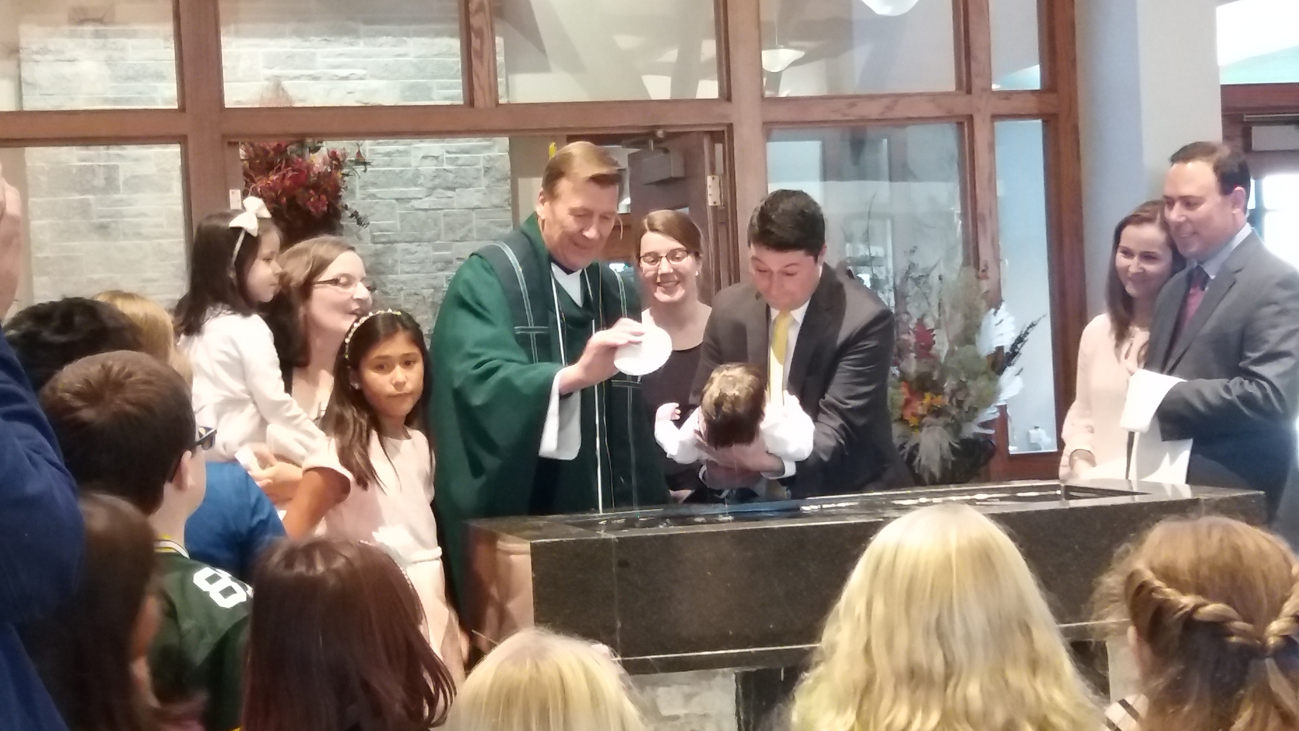 Baptisms. Are you expecting a baby or in the process of adoption?